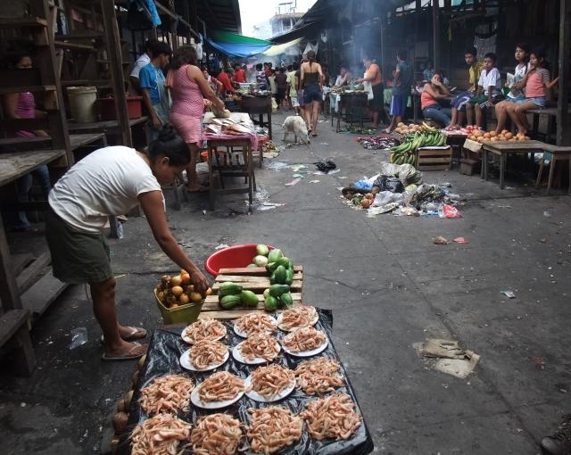 Alleyway in the Belén Market