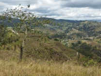 The hinterlands of Cuenca in southern Ecuador, in the Andean highlands